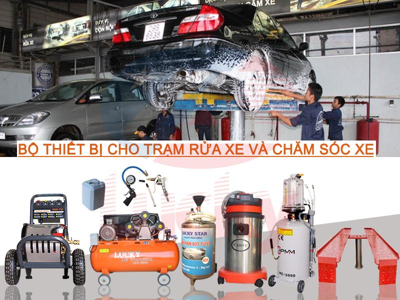 bộ rửa xe ô tô