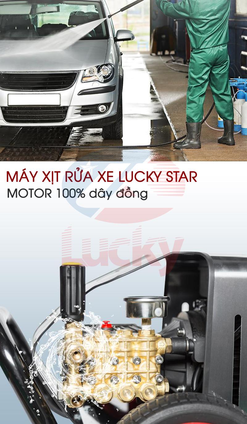 máy rửa xe ô tô áp lực cao