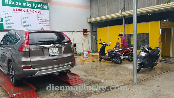kinh nghiệm kinh doanh rửa xe ô tô