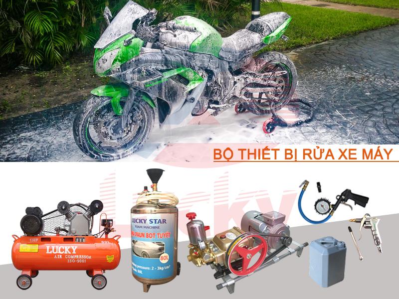 cách rửa xe máy siêu sạch