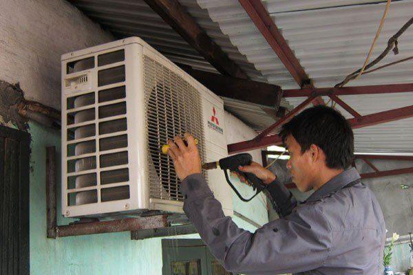 cách rửa máy lạnh